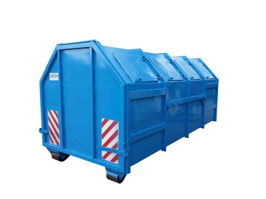kontener KP-10 w wersji zamkniętej, uniwersalny